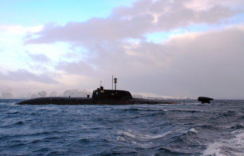 атомная подводная лодка проекта 945 барракуда sierra class