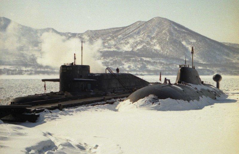 тихоокеанский флот. подводная лодка к-129